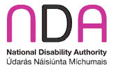 NDA: National Disability Authority Logo