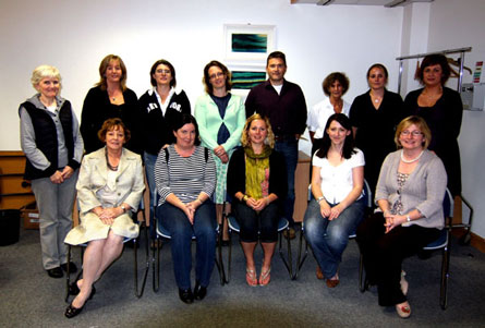Teachers at Equality of Challenge Workshop, Sept 2010