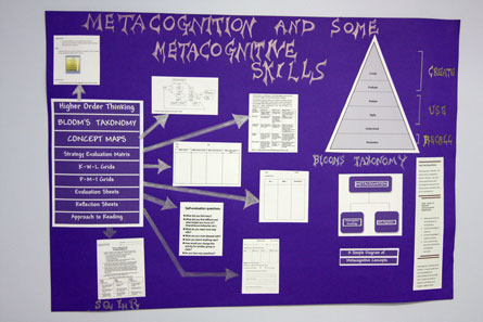 Image of Metacognition Skills Poster
