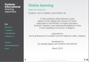 Link to Dyslexia International