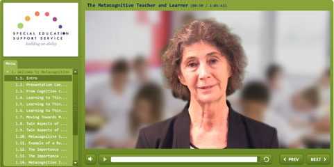 Link to Metacognition webcast